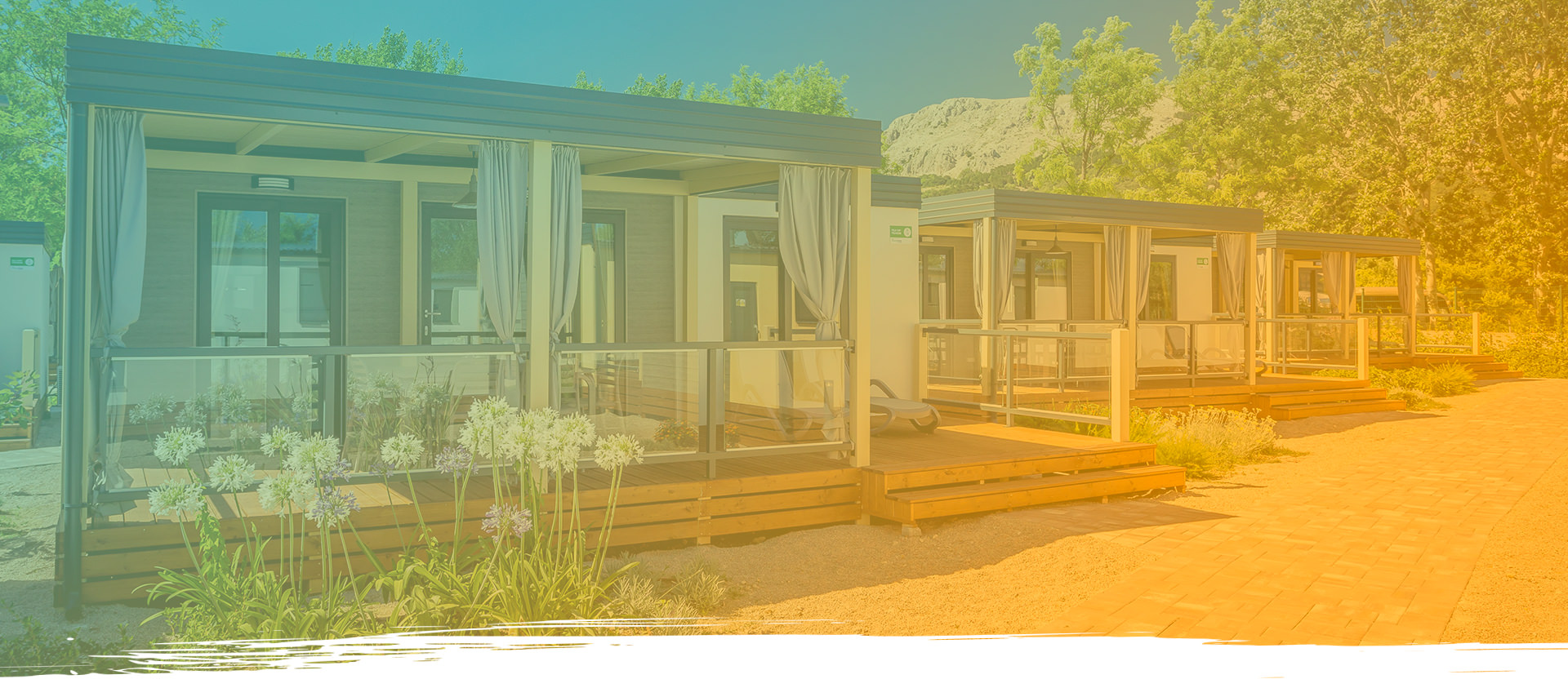 Baška Beach Camping Resort – Deluxe Mobile Homes